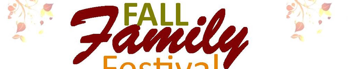 Fall Family Festival is Oct. 26!