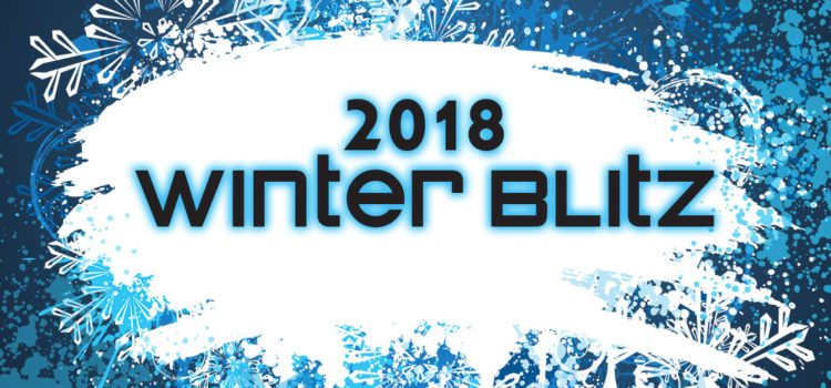 Winter Blitz is Jan. 19-21 — sign up now!