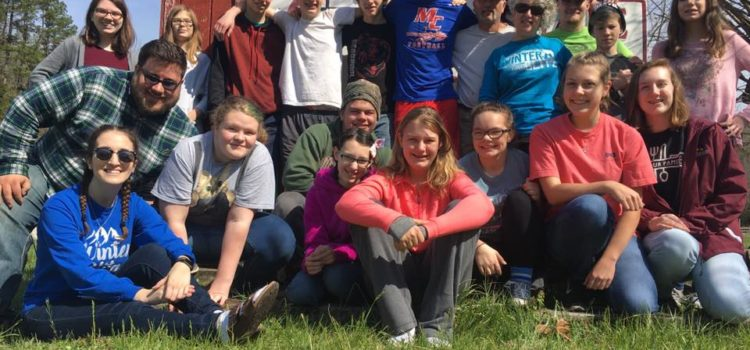 Guys', girls' youth retreats are May 3-5 at Aldersgate Camp!