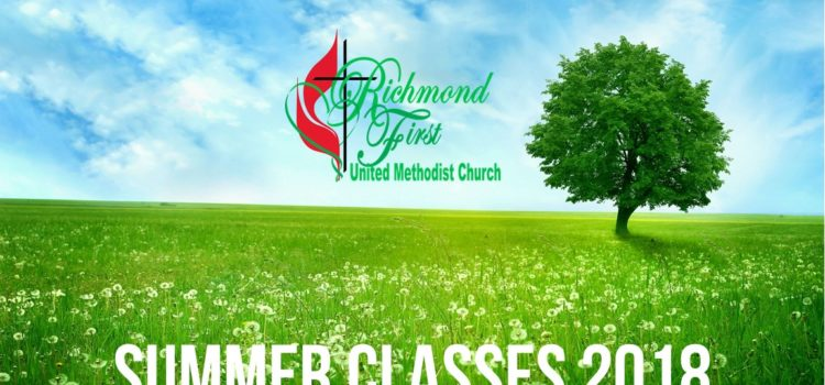 GROW in our summer Wednesday classes! (June 6 – August 22)