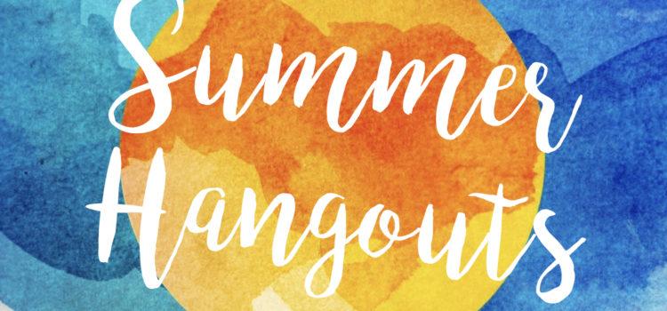 Summer activities for youth on Tuesdays, Thursdays