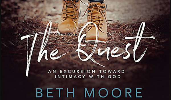 "New Beth Moore Bible study, ""The Quest,"" continues!"