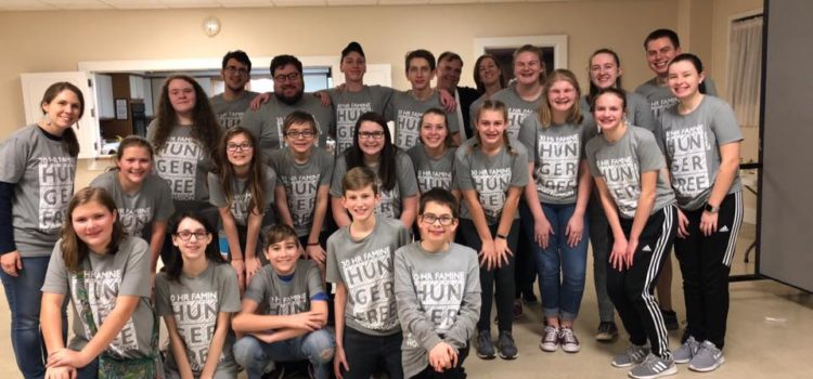 30-Hour Famine for Richmond FUMC youth is Feb. 22-23