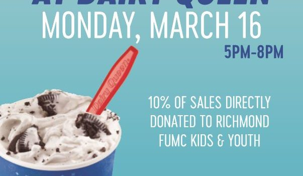 Keeneland DQ fundraiser for Aldersgate Camp on Monday, March 16