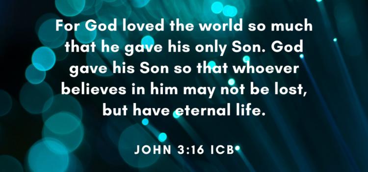 Advent Devotional:  Wednesday, December 16, 2020