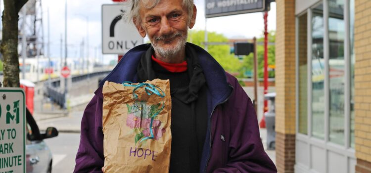 Serve the Hungry from the FUMC Parking Lot